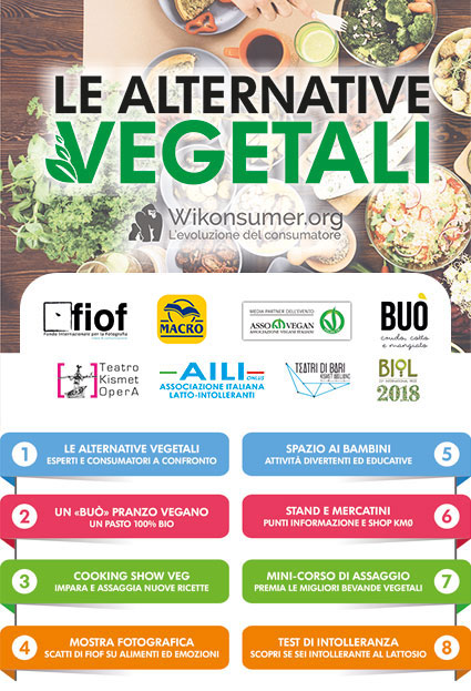 Le alternative vegetali